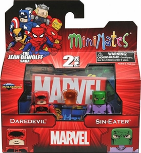Marvel MiniMates Series 43 Mini Figure 2-Pack Daredevil & Sin-Eater