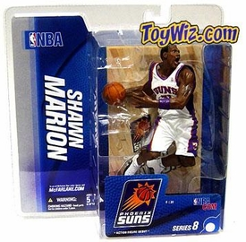 McFarlane Toys NBA Sports Picks Series 8 Action Figure Shawn Marion (Phoenix Suns) White Jersey