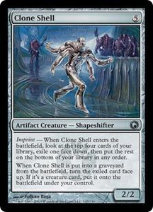 Magic the Gathering Scars of Mirrodin Single Card Uncommon #143 Clone Shell