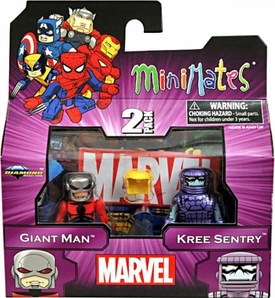 Marvel MiniMates Series 44 Mini Figure 2-Pack Giant Man & Kree Sentry