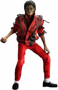 Michael Jackson Hot Toys 12 Inch Deluxe Action Figure Thriller