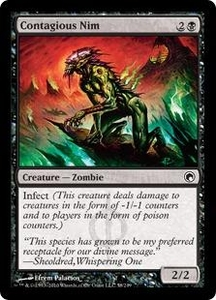 Magic the Gathering Scars of Mirrodin Single Card Common #58 Contagious Nim