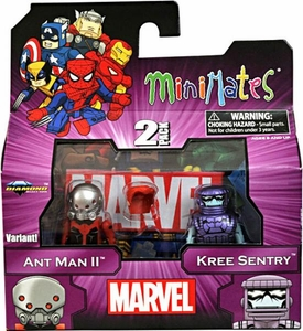 Marvel MiniMates Series 44 Mini Figure 2-Pack Ant Man II & Kree Sentry [Variant]