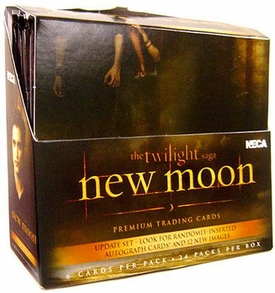 NECA Twilight New Moon Movie Update Edition Trading Card Box [24 Packs] BLOWOUT SALE!