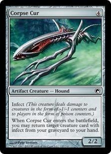 Magic the Gathering Scars of Mirrodin Single Card Common #147 Corpse Cur