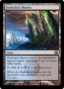 Magic the Gathering Scars of Mirrodin Single Card Rare #226 Darkslick Shores