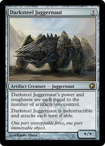 Magic the Gathering Scars of Mirrodin Single Card Rare #150 Darksteel Juggernaut