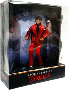 Playmates Michael Jackson 10 Inch Deluxe Collector Figure Thriller Video