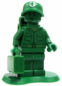 LEGO Disney Toy Story LOOSE Mini Figure Green Army Man Medic [Backpack & Med Case]