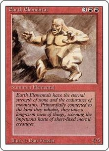 Magic the Gathering Revised Edition Single Card Uncommon Earth Elemental