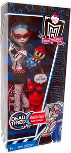 Monster High Dead Tired Basic Doll Ghoulia Yelps