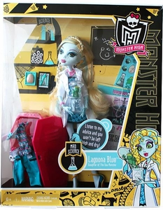 Monster High Classroom DELUXE Doll Mad Science with Lagoona Blue [With Locker]