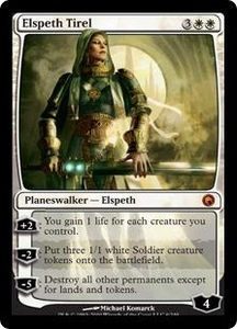 Magic the Gathering Scars of Mirrodin Single Card Mythic Rare #6 Elspeth Tirel