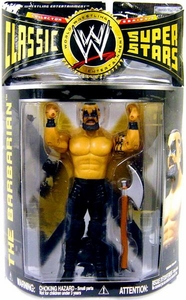 WWE Wrestling Classic Superstars Series 16 Action Figure Barbarian