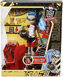 Monster High Classroom DELUXE Doll Physical Deaducation Ghoulia Yelps