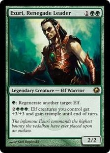 Magic the Gathering Scars of Mirrodin Single Card Rare #119 Ezuri, Renegade Leader