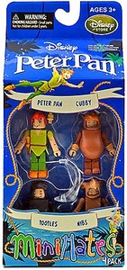 Disney Peter Pan Minimates Exclusive Mini Figure 4-Pack Peter Pan, Cubby, Tootles & Nibs