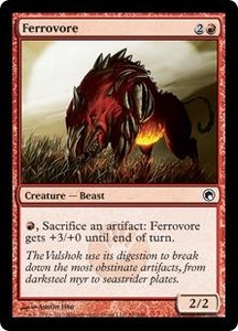 Magic the Gathering Scars of Mirrodin Single Card Common #88 Ferrovore