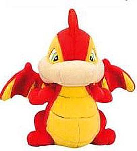 Neopets Limited Edition Plushie Red Scorchio