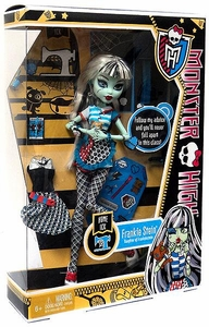 Monster High Classroom Deluxe Doll Home Ick Frankie Stein [without Locker]