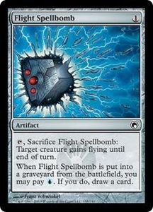 Magic the Gathering Scars of Mirrodin Single Card Common #155 Flight Spellbomb