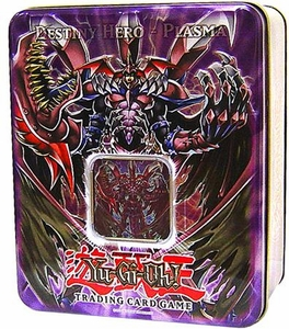 YuGiOh GX 2007 Wave 1 Collector Tin Set Destiny Hero Plasma
