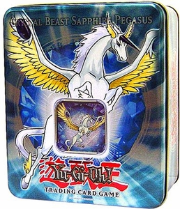 YuGiOh GX 2007 Wave 1 Collector Tin Set Crystal Beast Sapphire Pegasus