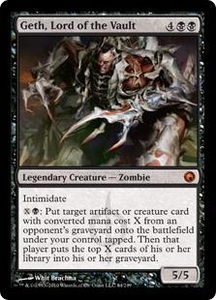 Magic the Gathering Scars of Mirrodin Single Card Mythic Rare #64 Geth, Lord of the Vault