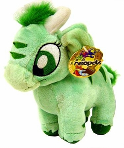Neopets Limited Edition Plushie Green Kau