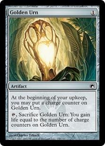 Magic the Gathering Scars of Mirrodin Single Card Common #158 Golden Urn