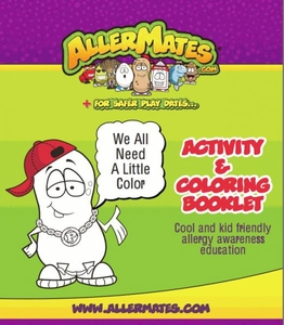 AllerMates Activity & Coloring Booklet BLOWOUT SALE!