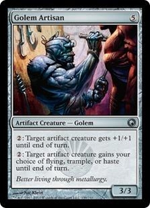 Magic the Gathering Scars of Mirrodin Single Card Uncommon #159 Golem Artisan