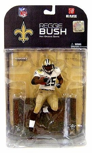McFarlane Toys NFL Sports Picks Series 17 [2008 Wave 1] Action Figure Reggie Bush (New Orleans Saints) Dirty Jersey