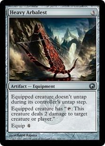 Magic the Gathering Scars of Mirrodin Single Card Uncommon #164 Heavy Arbalest