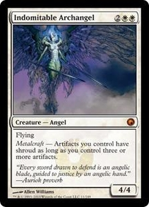 Magic the Gathering Scars of Mirrodin Single Card Mythic Rare #11 Indomitable Archangel