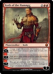 Magic the Gathering Scars of Mirrodin Single Card Mythic Rare #94 Koth of the Hammer