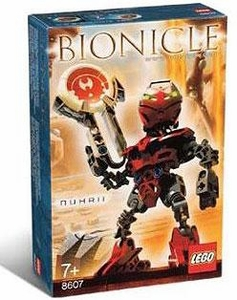 LEGO Bionicle Matoran of Metru Nui Set #8607 Nuhrii [Red]