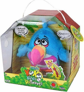 KooKoo Birds RETWEETS Talking Plush Rainbow-Billed, Long-Tailed