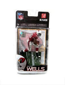 McFarlane Toys NFL Sports Picks Series 23 Exclusive Action Figure Beanie Wells (Arizona Cardinals)