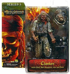 NECA Pirates of the Caribbean Dead Man's Chest Series 3 Action Figure Clanker