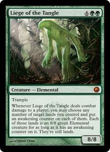 Magic the Gathering Scars of Mirrodin Single Card Mythic Rare #123 Liege of the Tangle