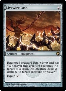Magic the Gathering Scars of Mirrodin Single Card Rare #172 Livewire Lash
