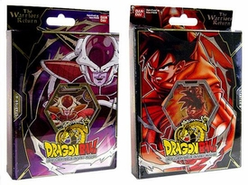 Dragonball Z Card Game Set of Both Warriors Return Starter Theme Decks [Goku & Frieza]