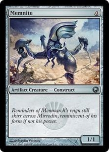 Magic the Gathering Scars of Mirrodin Single Card Uncommon #174 Memnite