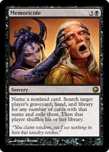 Magic the Gathering Scars of Mirrodin Single Card Rare #69 Memoricide