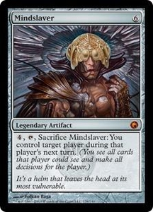 Magic the Gathering Scars of Mirrodin Single Card Mythic Rare #176 Mindslaver Great for Commander!