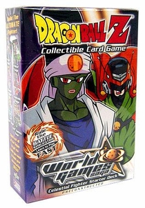 Dragon Ball Z Score Trading Card Game World Games Saga Starter Deck Villain [Celestial Fighter]