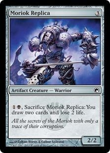 Magic the Gathering Scars of Mirrodin Single Card Common #178 Moriok Replica