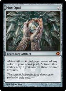 Magic the Gathering Scars of Mirrodin Single Card Mythic Rare #179 Mox Opal French!