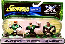 Green Lantern Action League Comic Series 3-Pack Guy Gardner, Hal Jordan & John Stewart